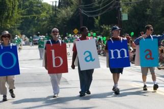 Labor Day Parade 2007 Obama
