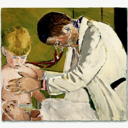 Pediatrician Caring For Patient   - click to view in detail .