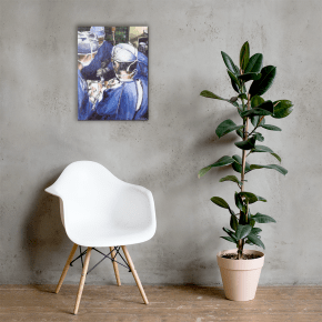 Available  Museum Quality Giclee or High Quality Canvas Print