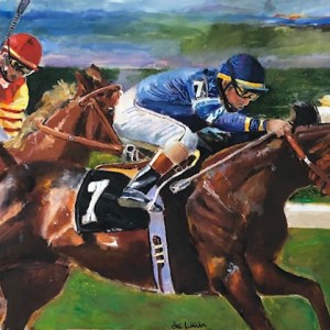 """Titled: """"Horse Race No. 7 """""""