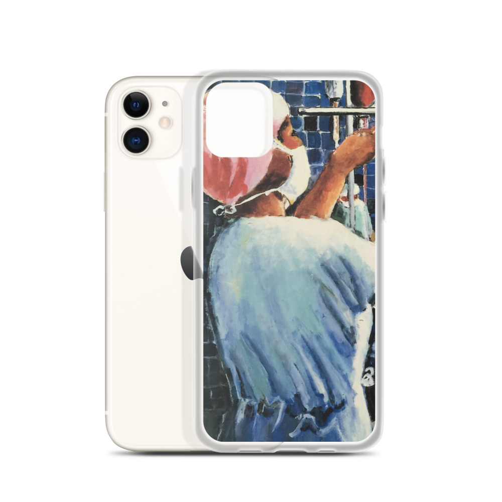 Nurses in the Operating Room iPhone Case