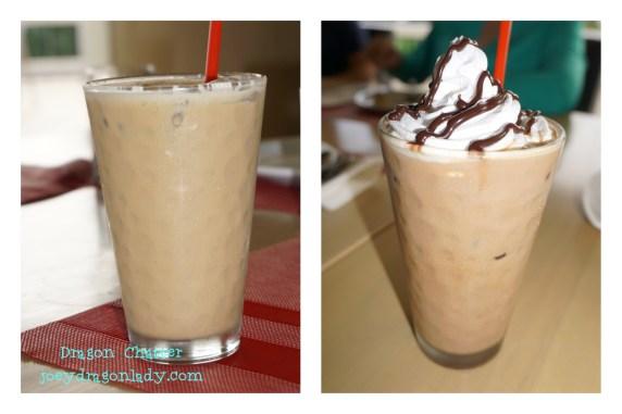 Iced CafeLatte & Iced Cafe Mocha