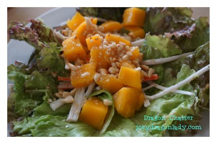 Japanese Crabstick and Mango Salad