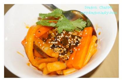 Korean Spicy Stir-fried Squid