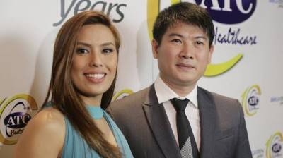 Ms. Nikki Gil (Reducin Endorser) with Mr. Albert Chan