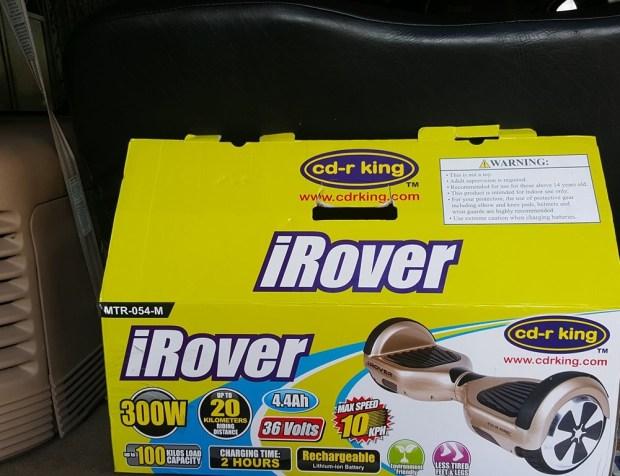 iRover guideline