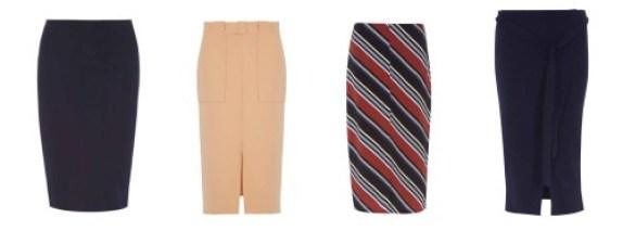 Dorothy Perkins Column Skirt
