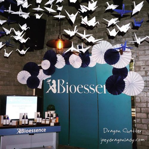Bioessence Launch with folded Cranes