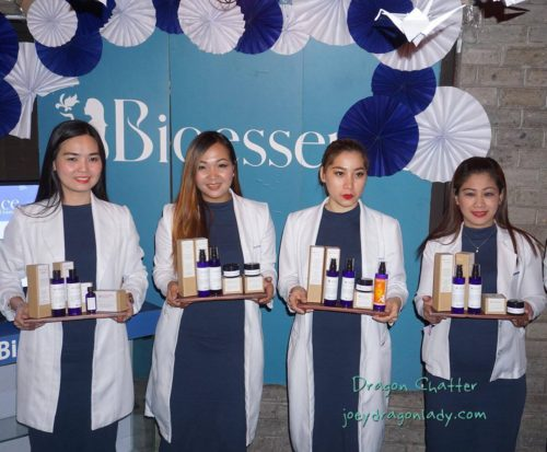 Skin Specialist with the Bioessence launch of Professional Product Line