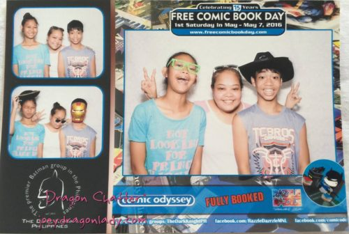 FCBD 2016 Photobooth