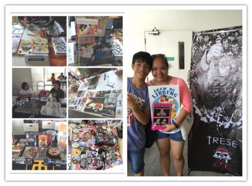 FCBD2016 Pinoy Komiks artist Center