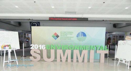 Environment Summit 2016 2