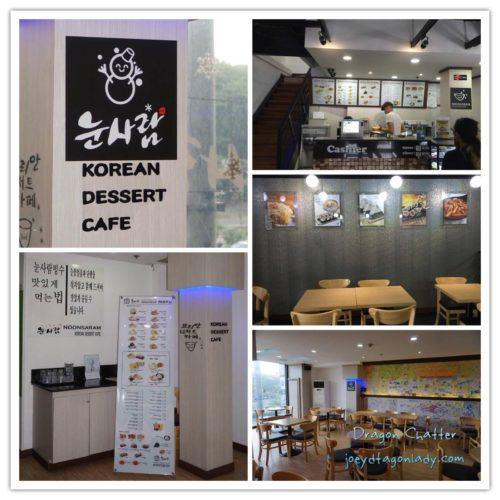 Noonsaram Korean Dessert Cafe Interior