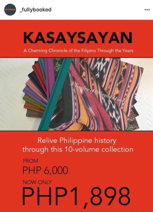 10 Volume Collection from 6,000php to just 1898php from June 3- July 3
