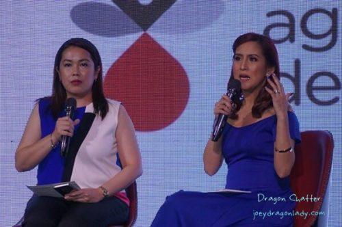 Rowena Lei Lim and Jolina Magdangal Escueta