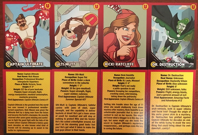 Captain Ultimate Vol 1 Trading Cards And Print Joey Esposito