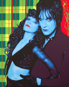 Pop Art, art, Joey Maas, Palm Springs Art, cramps, lux interior, poison ivy, punk, rockabilly,