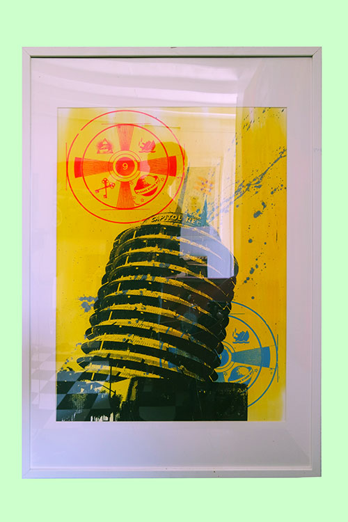Pop Art, art, Joey Maas, Capitol Records, Hollywood illuminati, Palm Springs Art,