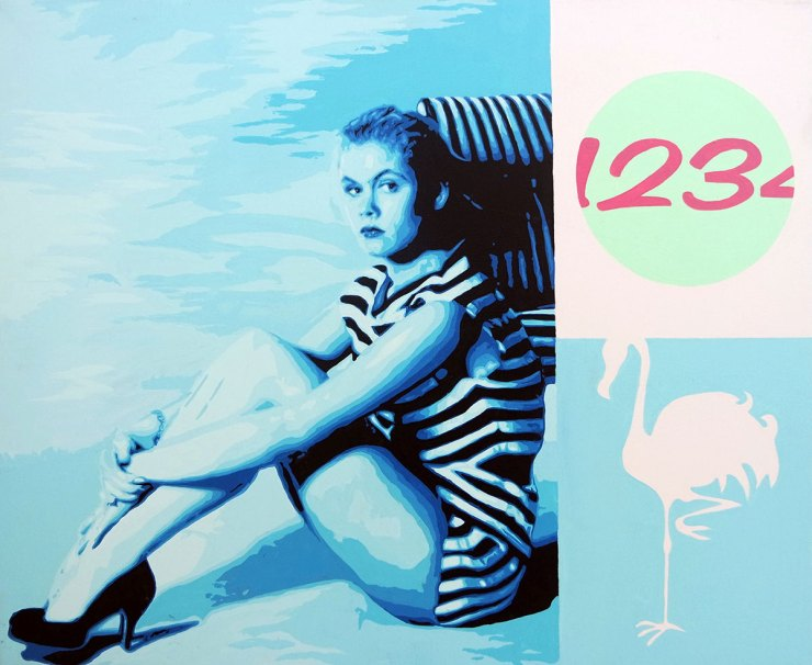 Pop Art, art, Joey Maas, Palm Springs Art, Elizabeth Montgomery, Bewitched, 1960's