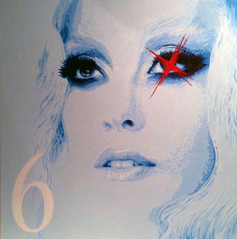 Pop Art, art, Joey Maas, Lady Gaga, illuminati, Palm Springs Art