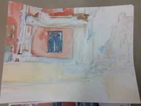 Watercolor Art Class, John Singer Sargent