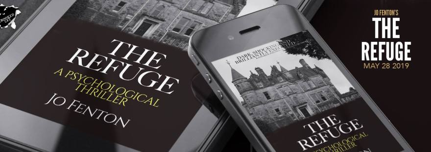 Pictures of The Refuge cover on kindle