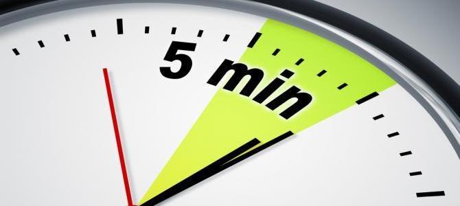 8 perc, amin a 2016-os éved múlik?