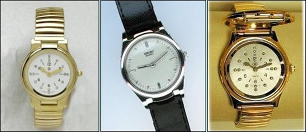 a917f2c1c4b imagem mostrando três modelos de relógios em braille femininos e masculinos