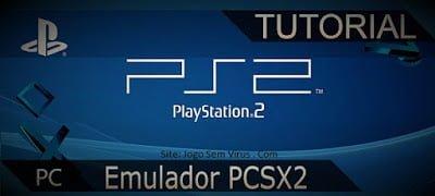 Imagem logo emulador PCSX2 playstation 2