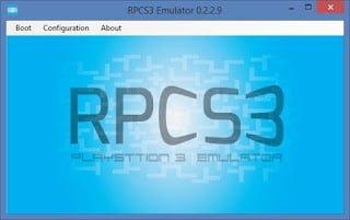 Programa rpcs3, ps3 emulator