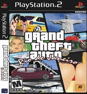 Capa Grand Theft Auto Rio de Janeiro GTA RJ