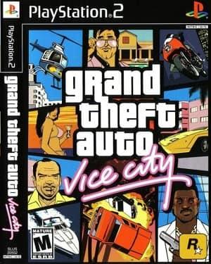 Capa Grand Theft Auto Vice City PS2