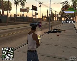 Carl Johnson CJ Grand Theft Auto San Andreas