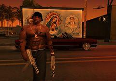 Grand Theft Auto San Andreas CJ upgrade