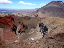 The spectacular Red Crater.