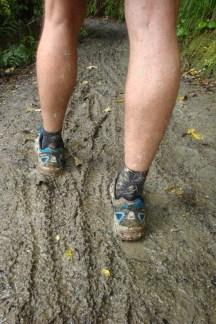 Mud everywhere.