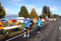 Wonderful aid stations with water and every second one with Powerade.