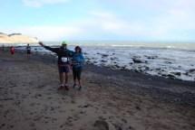 Nice to run into fellow Manawatu Strider and friend June Wirihana along the way.