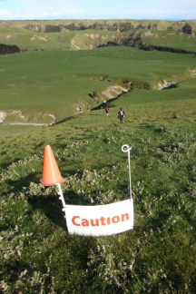 ...and soon realised what it was all about - the gnarliest downhill, requiring some clever footwork.