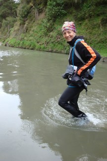 After the elbow-deep experience, mere ankle-deep crossings were a walk in the park.