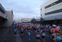 Quite unbelievable to see so many runners on one course.