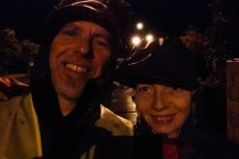 Around 2:30am, soaking wet, we were almost finished with our sixth interval.