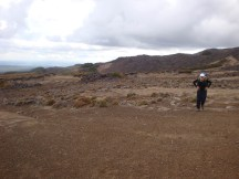 The landscape became more desert-like as we progressed along the southeastern slopes of Mt Ruapehu.