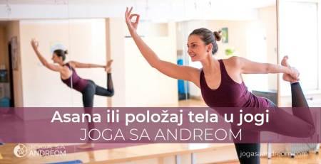 Asana ili položaj tela u jogi, podela i izvođenje | Joga sa Andreom