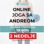 Članarina za 2 nedelje za online joga časove • Joga sa Andreom
