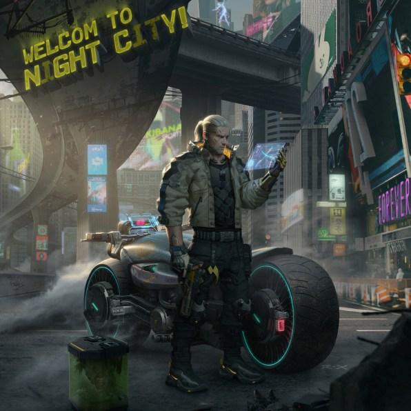 The Witcher x Cyberpunk 1