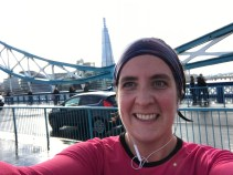 And a ghastly photo, but my excuse is the previous 22ish miles...happy to be nearly finished!