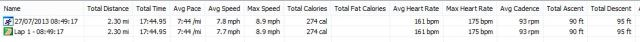 Running Statistics - Screwed up times due to wrong button pressing - 27-07-2013