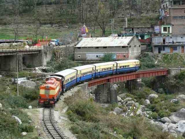 joginder nagar railway track