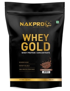 NAKPRO GOLD 100% Whey Protein Concentrate